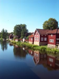 Vy från Arboga, foto Maria